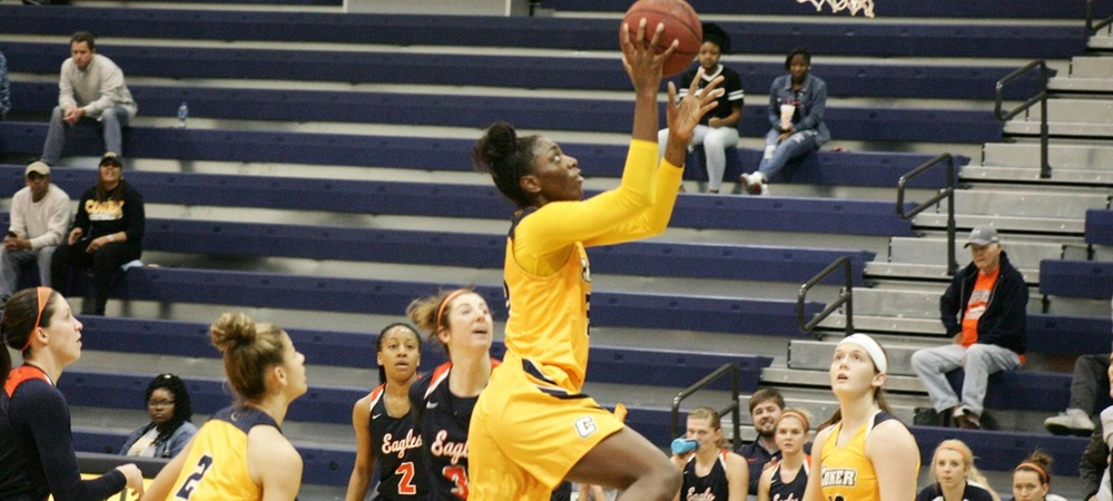 Coker Completes Season Sweep of Queens with Overtime Victory