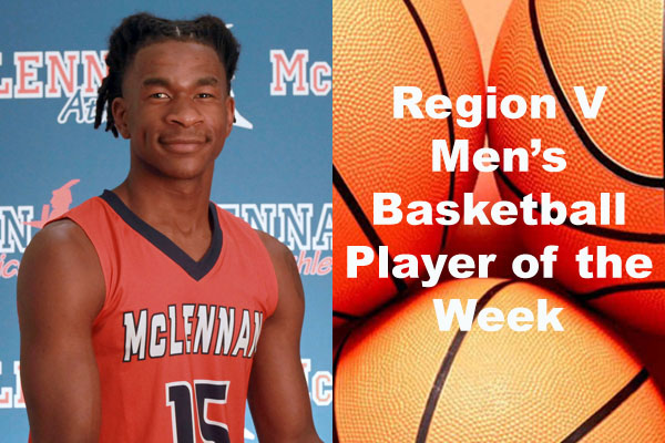 Region V Men's Basketball Players of the Week (Jan. 28 - Feb. 3)