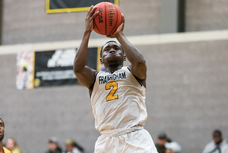 Payton's Last Second Basket Lifts Men's Basketball Past Fitchburg State 73-71