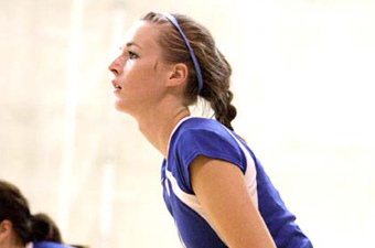 Carfagno's second double-double of the season leads Judges past Wellesley, 3-1