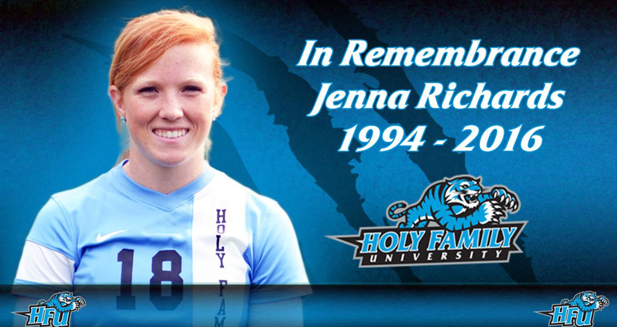 Holy Family & CACC Mourn the Loss of Former Women's Soccer Star Jenna Richards