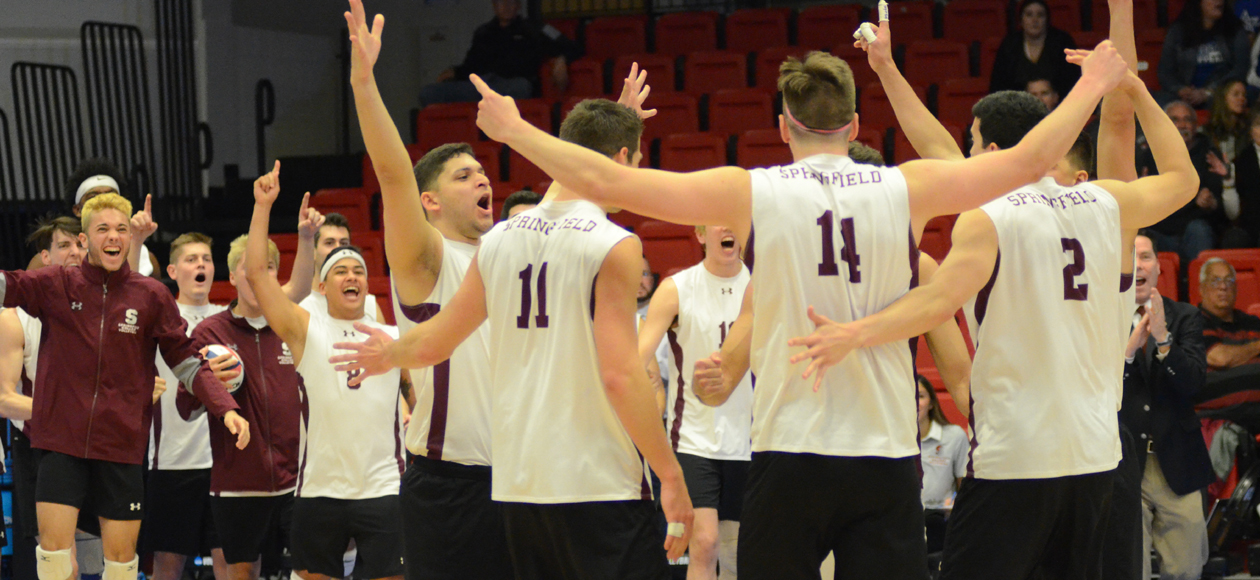 Men's Volleyball Sweeps Vassar For Spot In NCAA Division III Championship
