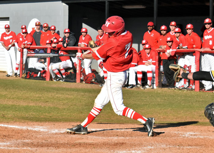 Patrick Kucera scored two runs and stole two bases in Sunday's loss to third-ranked Emory.