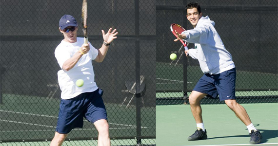 Siqueira, Pickham Named to All-America Teams in Men's Tennis