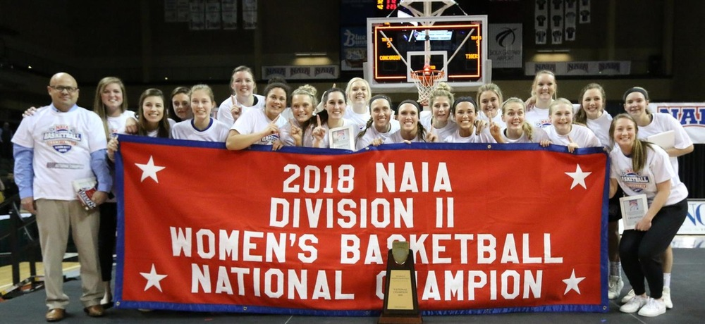 Women's basketball wins first ever national championship