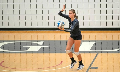 UMW Volleyball Sweeps Catholic, 3-0, on Tuesday