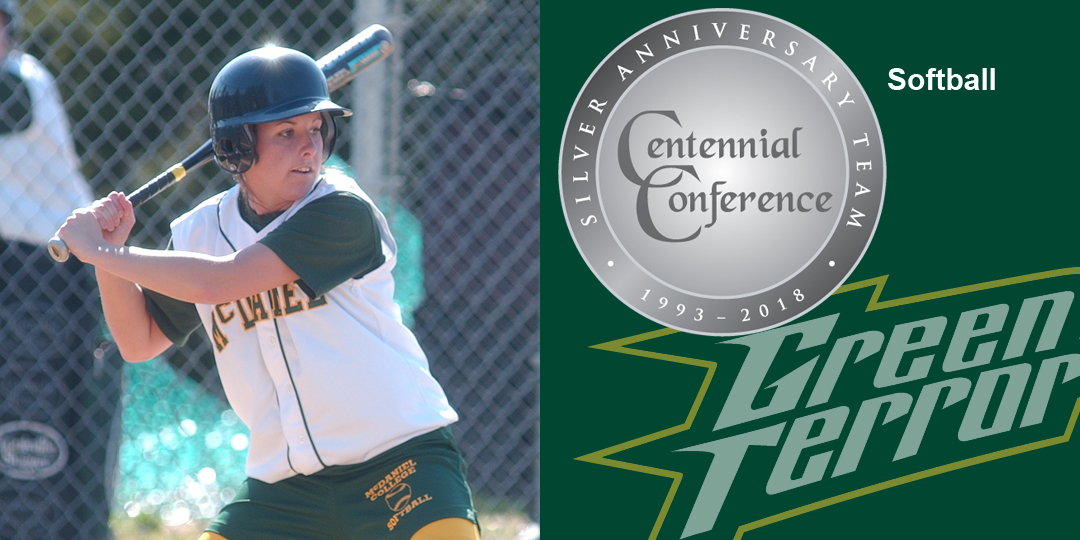 Samantha Abrams makes the Centennial Conference Silver Anniversary Team for softball.