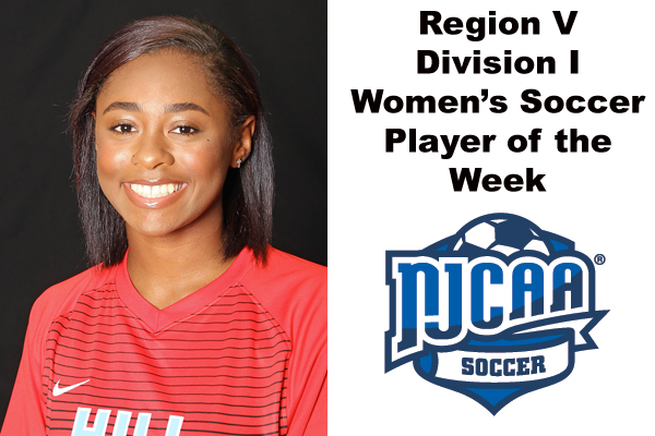 Region V Division I Women's Soccer Player of the Week (Sept. 17-23)