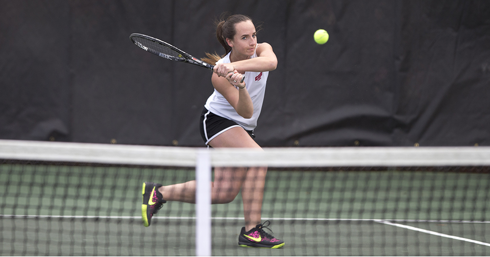 Women's Tennis Victorious in Season Opener