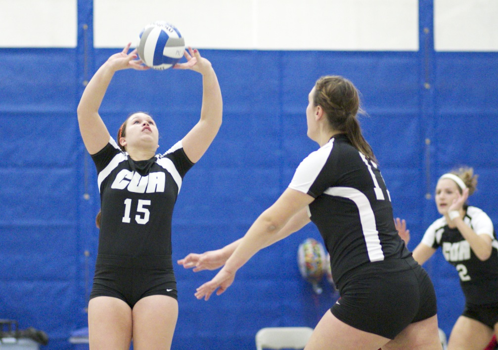 CUA Volleyball Is Unsuccessful In Season Opening Event
