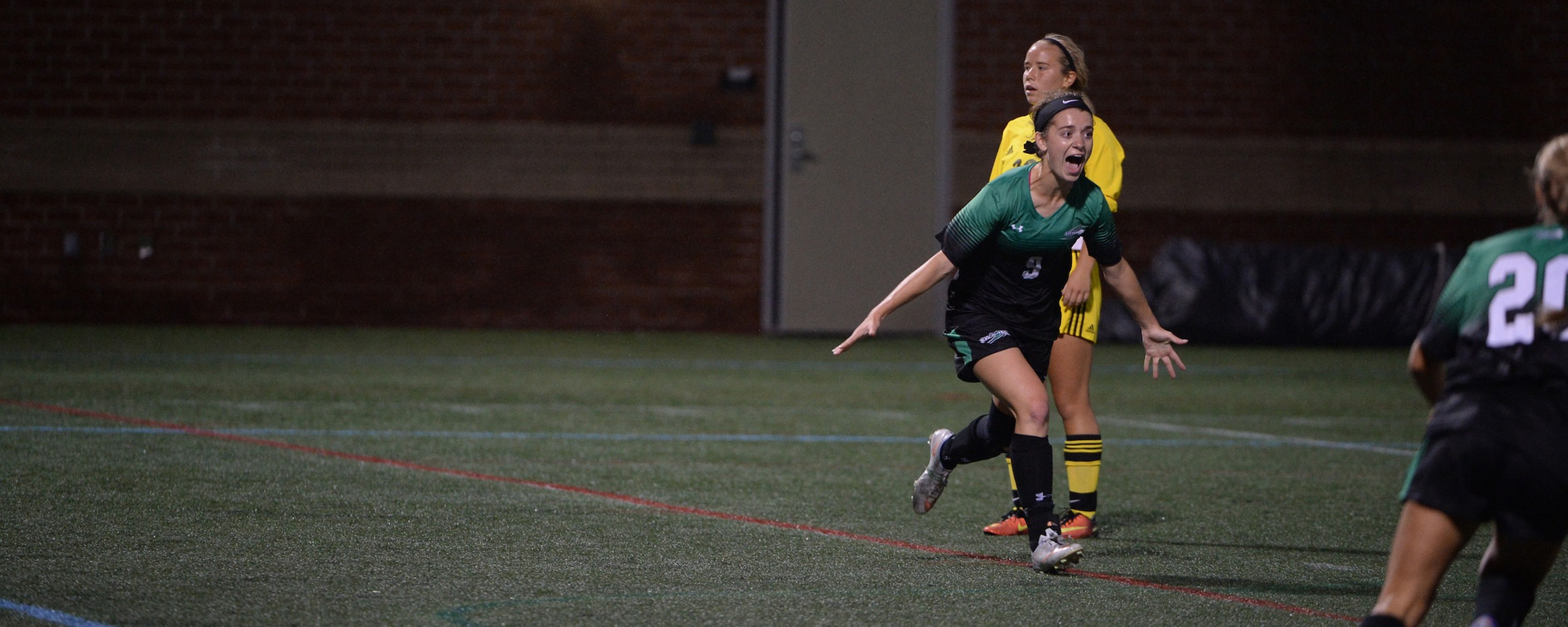 Mustangs Upset No. 8 Johns Hopkins in Overtime, McKee Sets Save Record