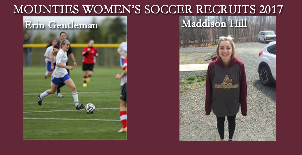 Mount Allison Mounties Women's Soccer program is pleased to announce the addition of two more recruits