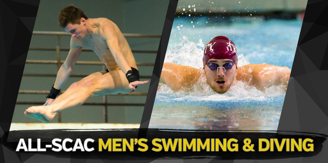 Trinity's Clark, Valmassei Earn SCAC Male Swimmer and Diver of the Year Honors