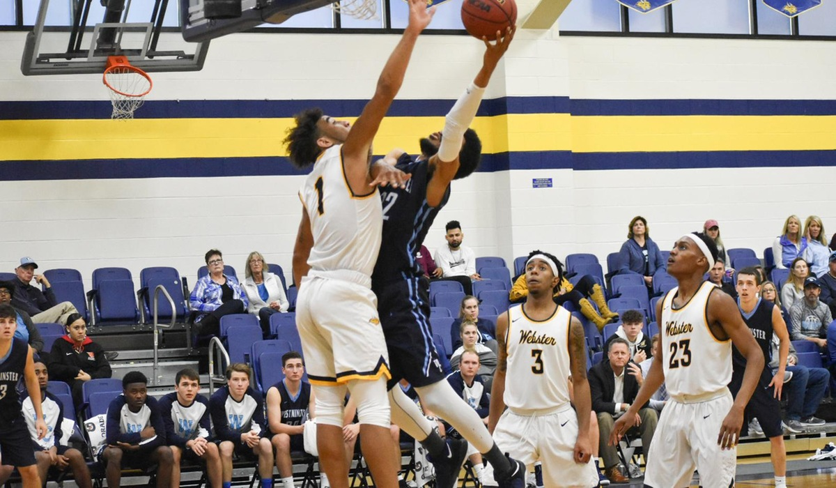 Westminster Men's Basketball Falls to Webster, Breaks Conference Winning Streak