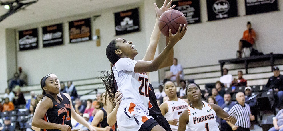 Tusculum sweeps SAC/CC Challenge with 76-55 win over King