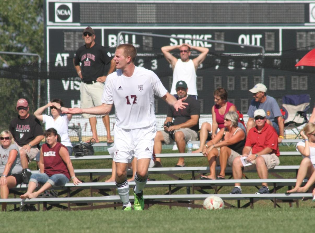 Scots Men's Soccer loses to Greenville 1-0 on Saturday afternoon