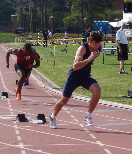 C-N sprinters lead charge following day one of Buccaneer Invitational
