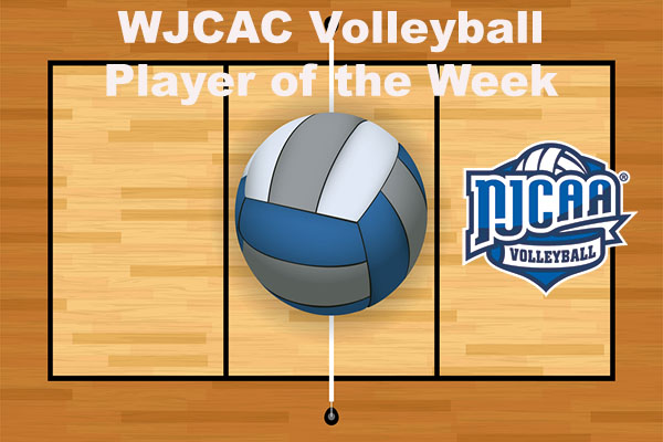WJCAC Volleyball Player of the Week (Sept. 3-9)
