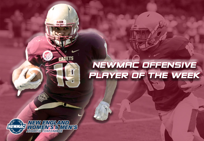 Football: Aaron Conner snags NEWMAC Offensive Player of the Week Award