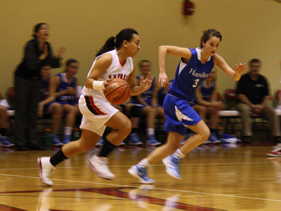 LATE RALLY FALLS SHORT FOR WOMEN'S BASKETBALL
