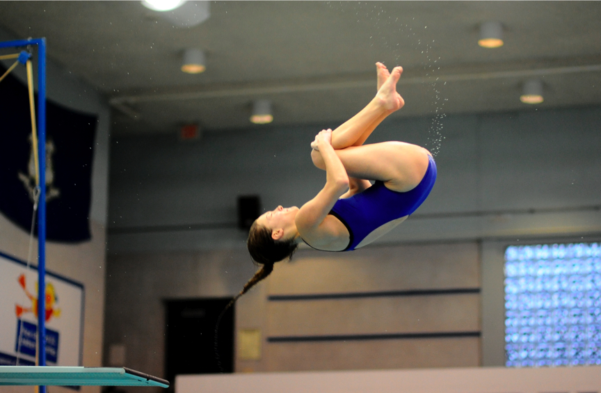 CCSU Diving Hosts First Meet of Season
