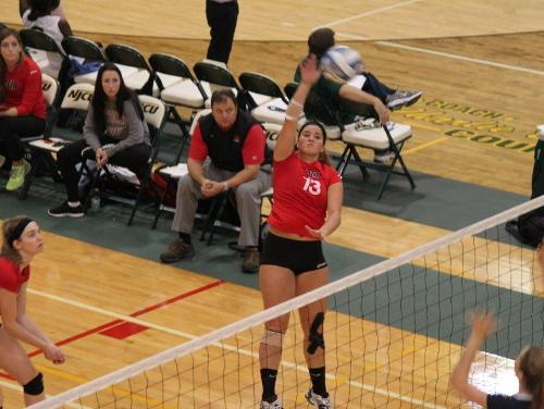Cards Advance to Semifinal Action After Sweeping Goucher in Three Sets