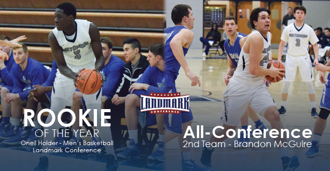 McGuire Named to Landmark All-Conference 2nd Team; Holder Selected as Rookie of the Year