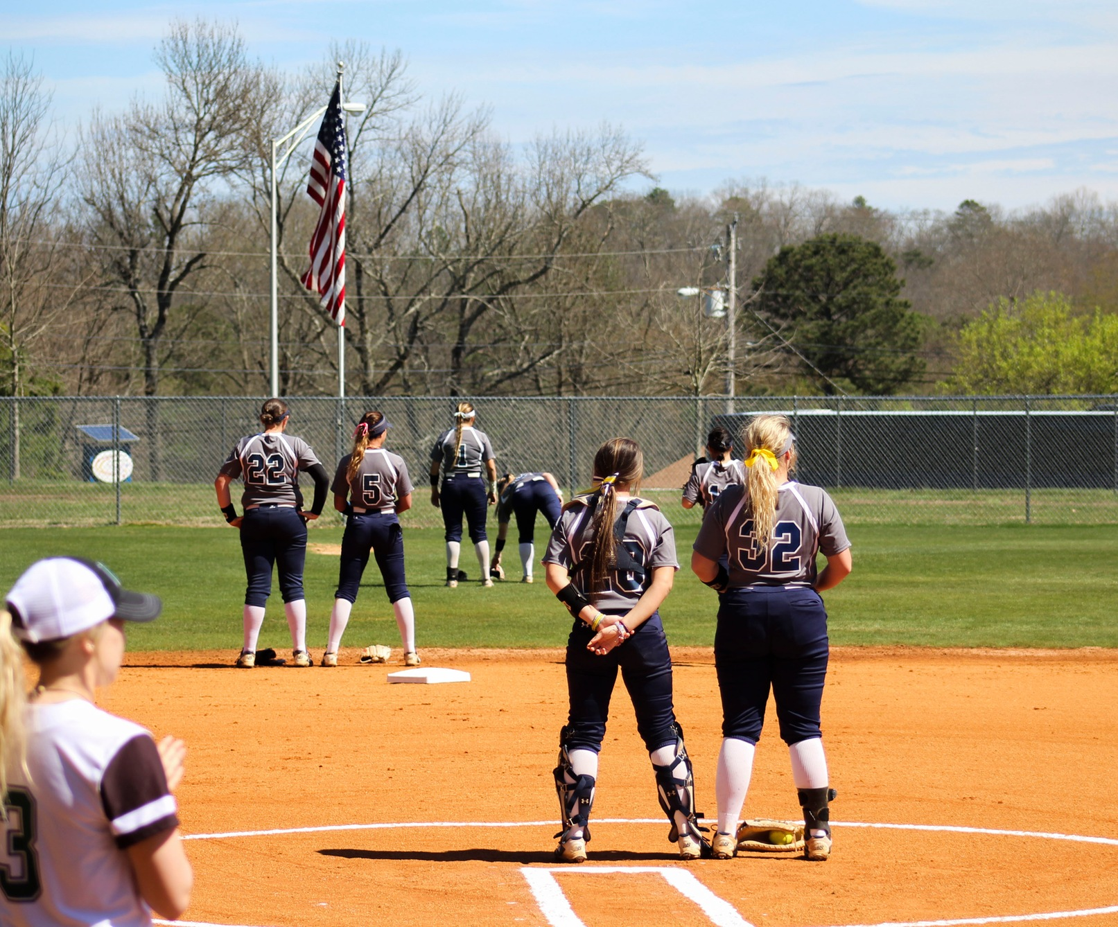 Softball Suffers Two Tough Road Losses