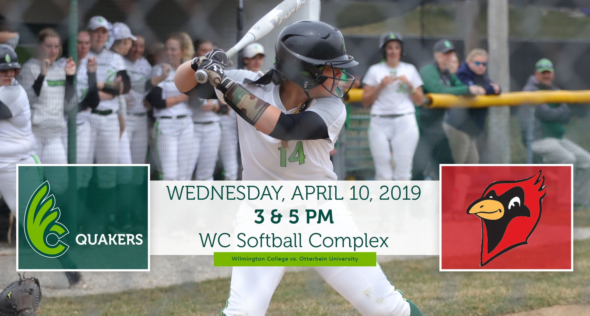 Softball Hosts Otterbein Wednesday
