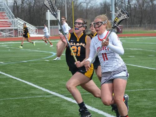 Women's lacrosse team falls to Adrian, 21-3