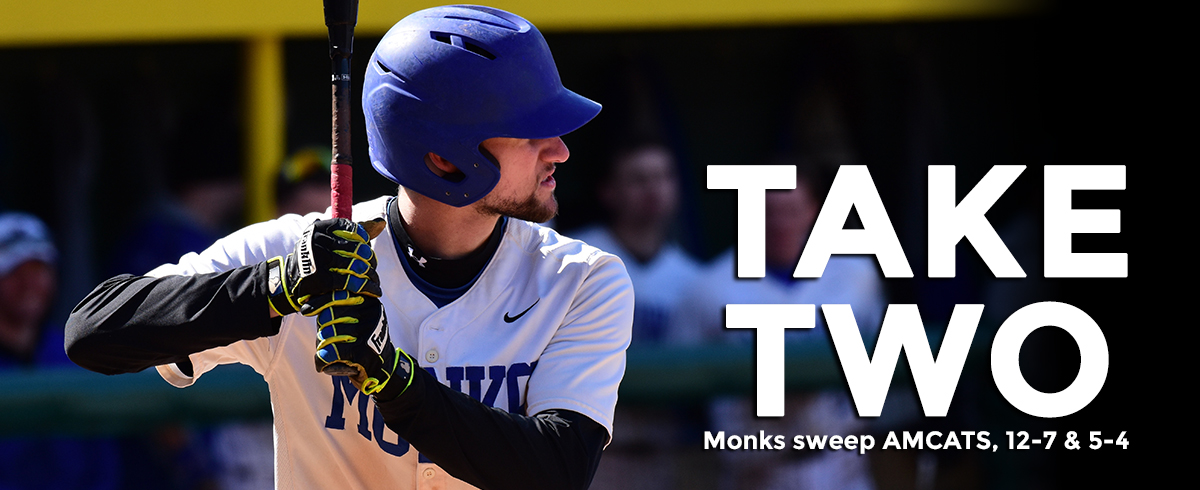 Monks Win Game Two in Extras to Complete Sweep Over AMCATS