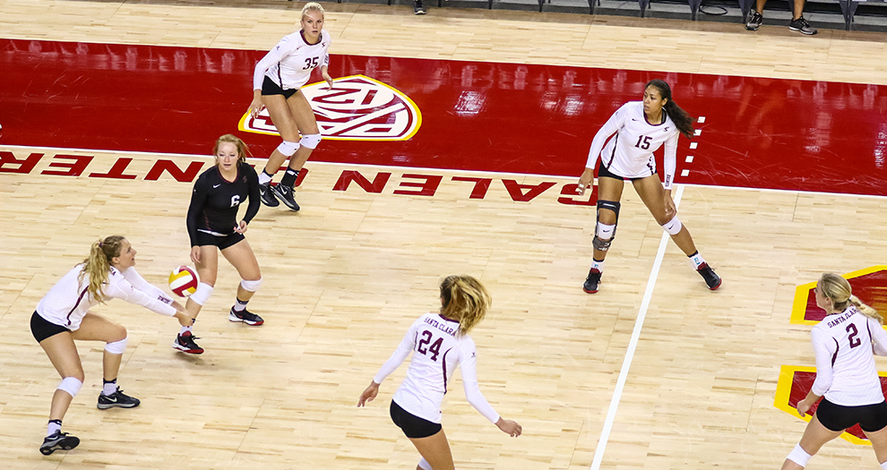 No. 17 Volleyball Drops Friday Matches at Boise State Invitational
