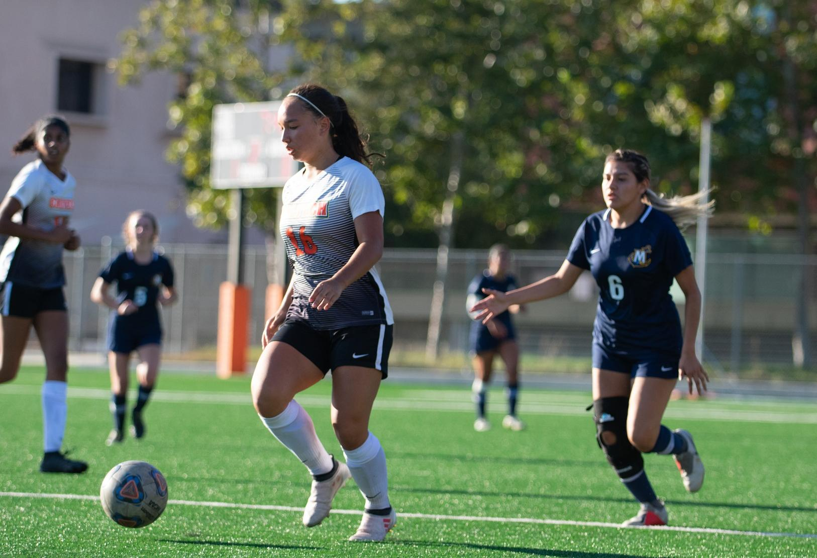 Brown, Women's Soccer Competitive at Soka