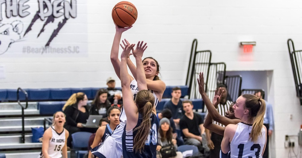 Late Rally Falls Short as Merchant Marine Halts Women's Basketball's Three-Game Win Streak