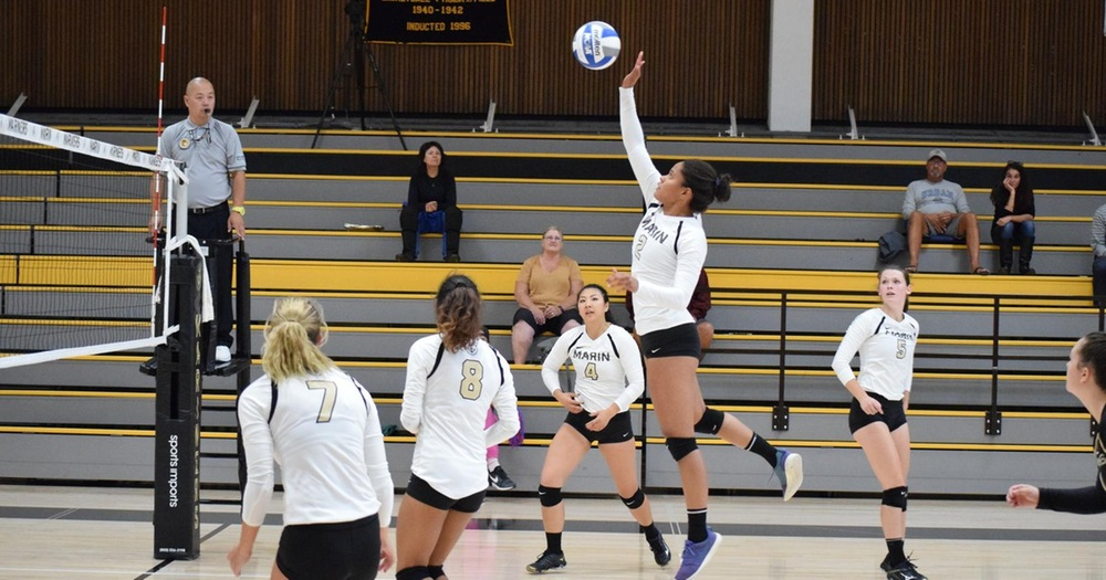 Mariners' Volleyball Thrashes Napa 3-0 In Bay Valley Conference Opener