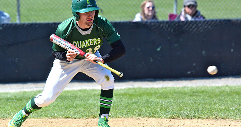 Junior Daniel Hayes recorded a team-high three hits Saturday. (Wilmington file photo/Randy Sarvis)