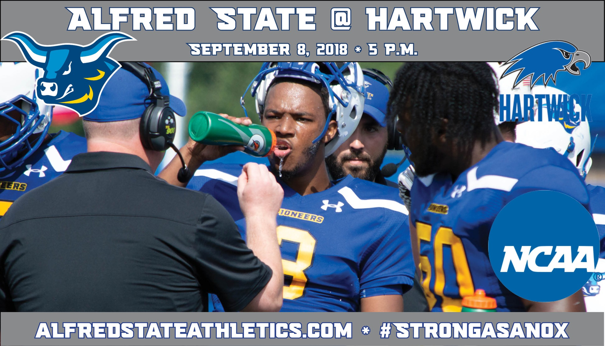 Alfred State battles Hartwick in their first road contest of 2018