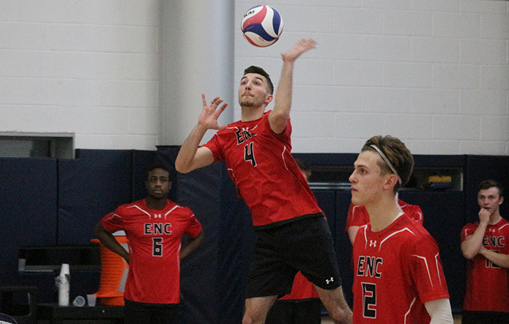 Men's Volleyball Drops Midweek Matchup at Wentworth, 3-0