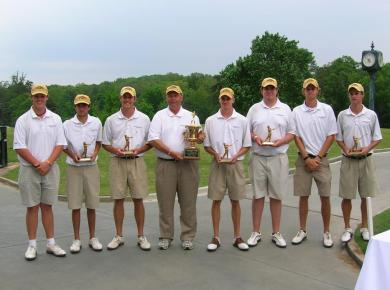 Golfers Capture Third Straight Second Place Finish at Emory