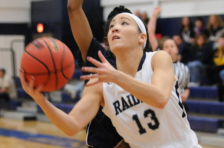 Women's Basketball: Perry returns with 21 point night; Raiders upend Sharks 74-57