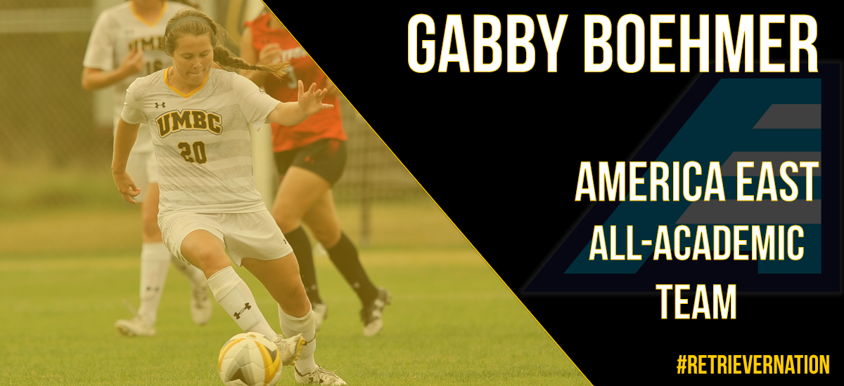 Boehmer Named to #AEWSOC All-Academic Team