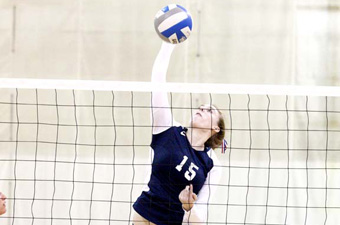 Volleyball can't get past UMass Boston, 3-1, in Judges Classic opener