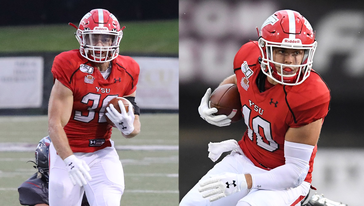 Coates, Alessi Named MVFC Players of the Week