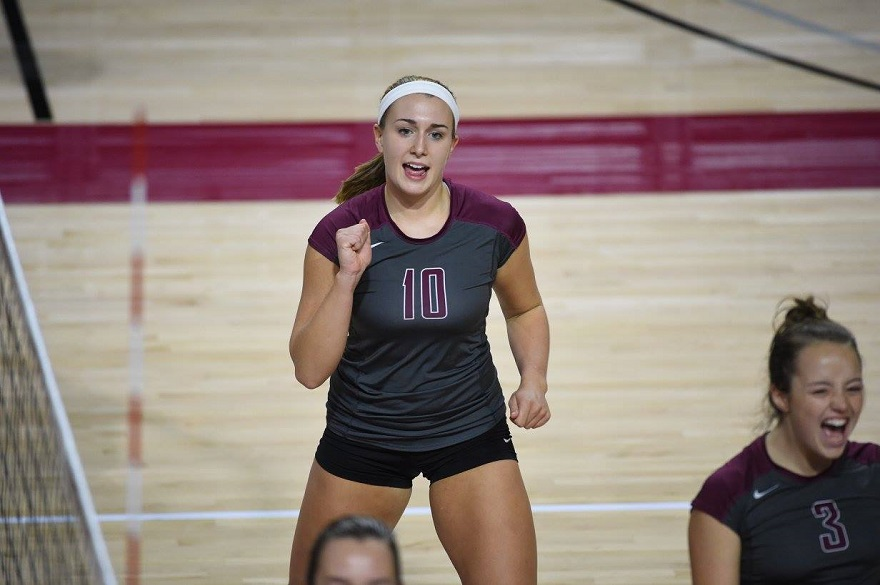 RC Volleyball Tops Averett & Randolph on Saturday