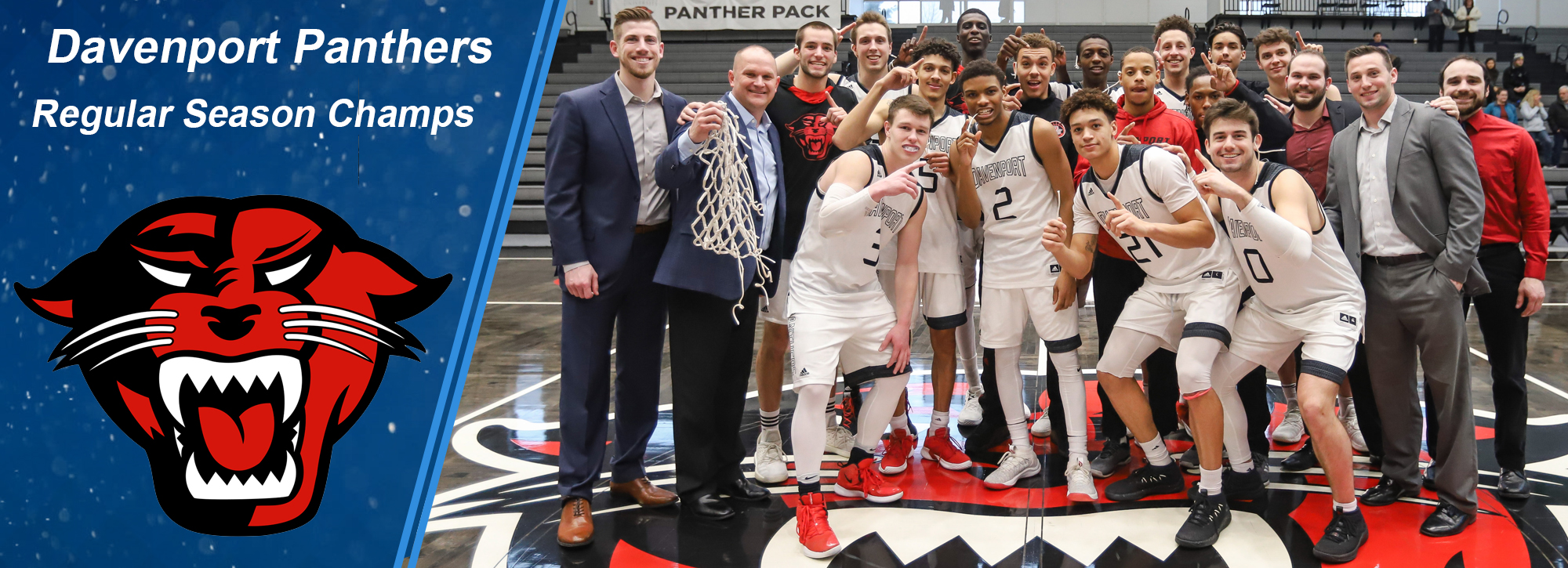 Davenport clinches GLIAC regular-season men's basketball title
