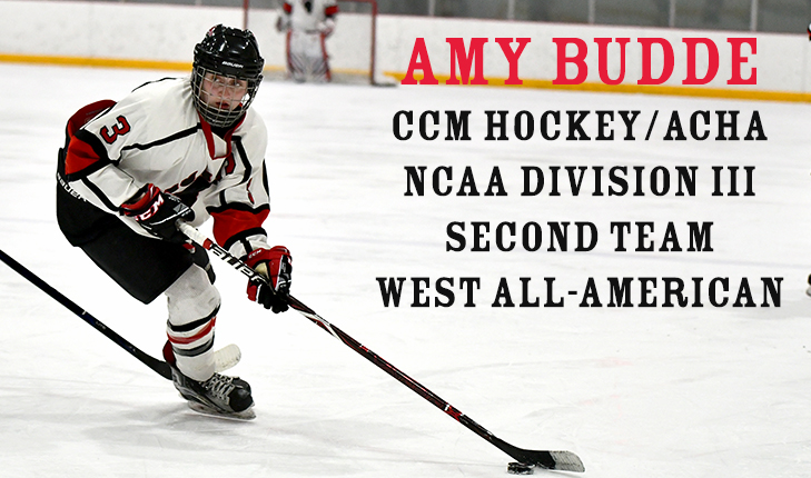 Amy Budde Named Second Team West All-American