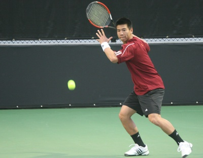 Men's Tennis Comes Back to Beat 'Nova 5-4