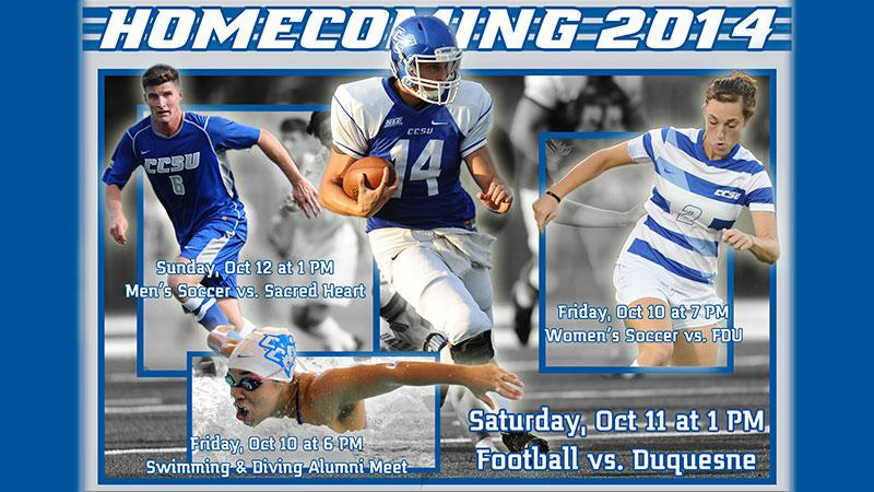 CCSU Set for 2014 Homecoming Weekend