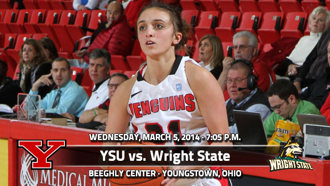 Penguins Look to Defend Home Court Wednesday vs. Wright State