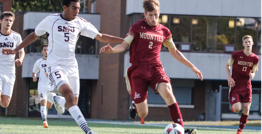 Mounties earn 2-2 draw at Saint Mary's